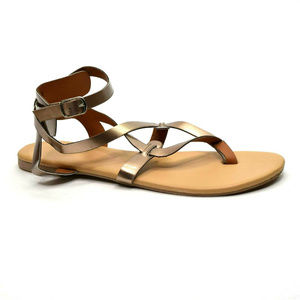 Crisscross Gladiator Thong Sandals EUR 42 New